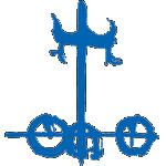 Значок-эмблема Mitsuoka