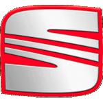 Значок-эмблема Seat