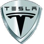 Значок-эмблема Tesla