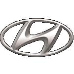 Значок-эмблема Hyundai