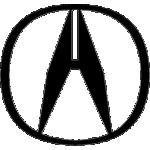 Значок-эмблема Acura