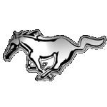 Значок-эмблема Ford Mustang