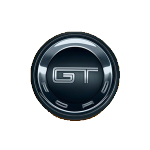 Значок-эмблема Ford GT