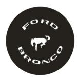 Значок-эмблема Ford Bronco