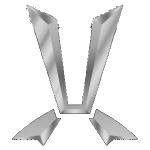 Значок-эмблема Toyota Cresta