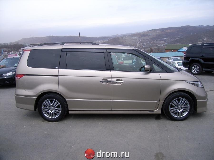 Honda Elysion (май 2004 - октябрь 2013) - технические ...