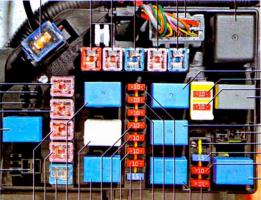 схема размещения блока