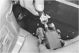 104 5 - Электромагнитный клапан продувки адсорбера приора