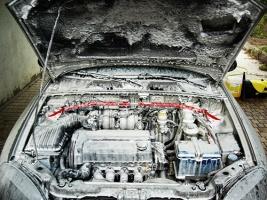 мытье двигателя