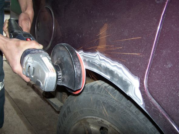 Подготовка машины к покраске своими руками ваз 2109
