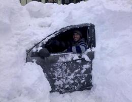 замерзло авто