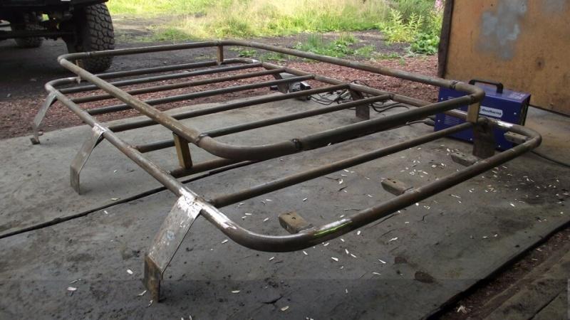Самодельный багажник на уаз 469. Экспедиционный багажник своими руками — больше места в салоне