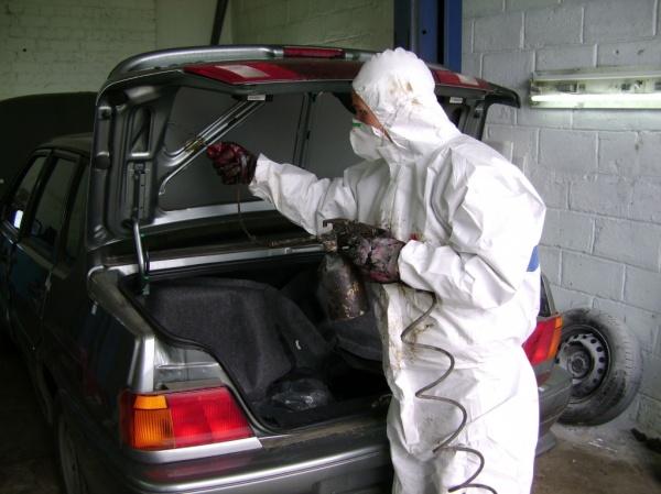 Обработка кузова автомобиля своими руками видео