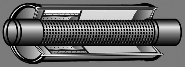 корпус пламегасителя