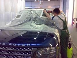 полировки переднего стекла авто