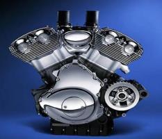 V образноый двигатель