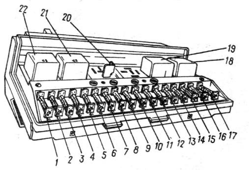 Схема блока предохранителей шевроле круз фото 382