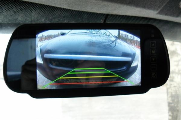 это Камера переднего и заднего вида с монитором тогда