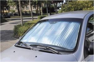 Защита на лобовое стекло от солнца своими руками