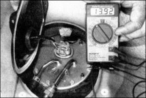 датчика уровня топлива