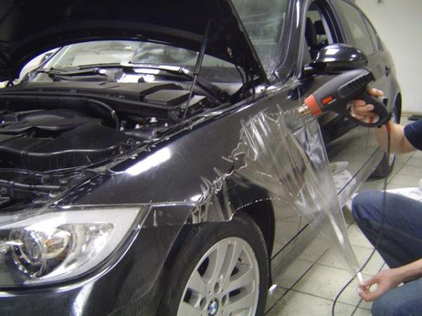 авто обклеить защитной пленкой