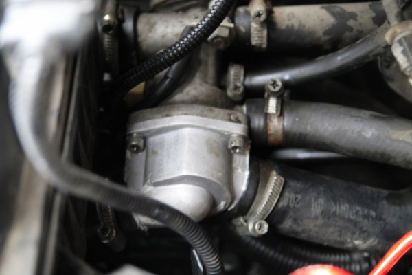 283 3 - Схема системы охлаждения приора с кондиционером