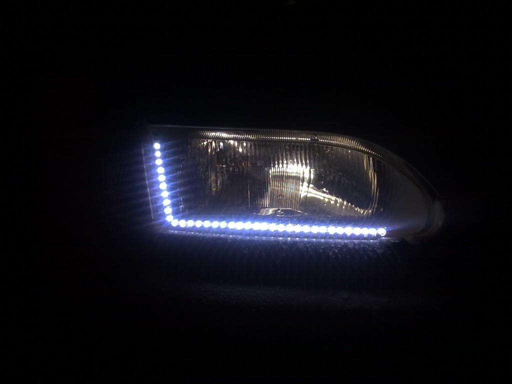 Как своими руками сделать светодиодные фары на фото 834