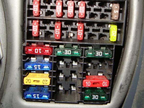 Блок предохранителей на Рено-Логан 1—2