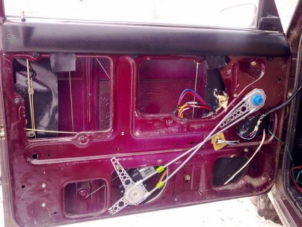 Установка электростеклоподъемника на газель своими руками установкой
