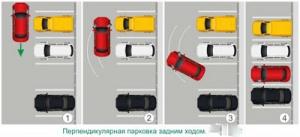 ширина главного проезда между автомобилями равна 6 м