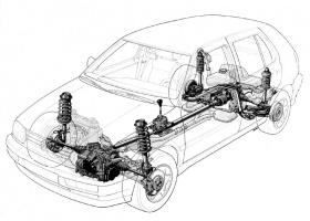 схема авто