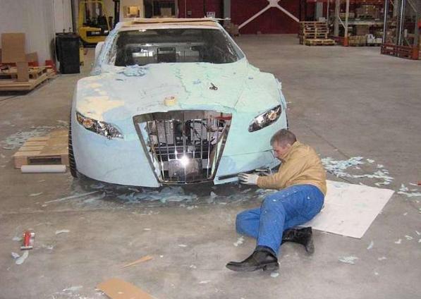сборка автомобиля