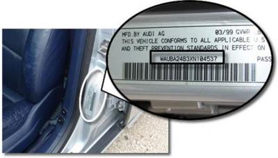 Как проверить авто по номеру кузова
