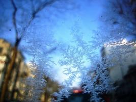 замерзли окна в авто