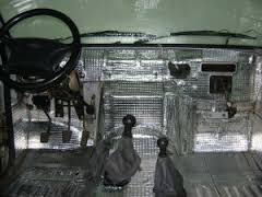утепляем салон авто
