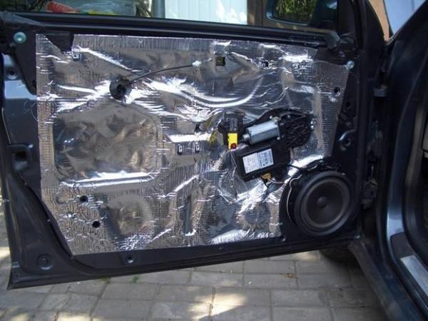 Как сделать в машине шумоизоляцию видео
