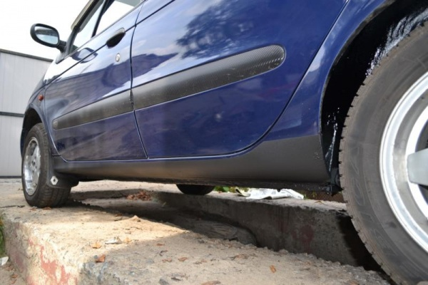 Как обработать арки автомобиля антигравием своими руками