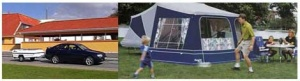 палатки-прицепы