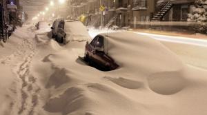 авто занесло снегом