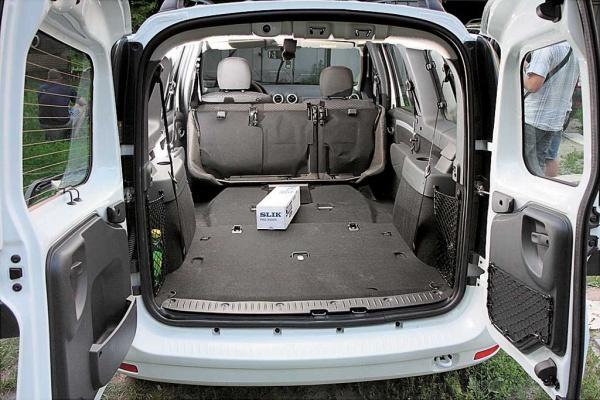 Размер кузова лада ларгус фургон