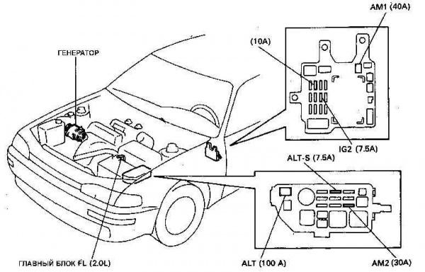 Схема зарядки аккумулятора от генератора фото 187