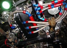 смазка узлов двигателя