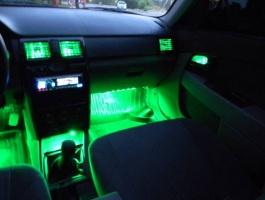 подсветка автомобильного салона