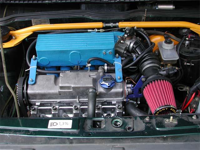 Тюнинг ВАЗ 2109 своими руками, фото тюнинга салона, двигателя, доработки ВАЗ 2109