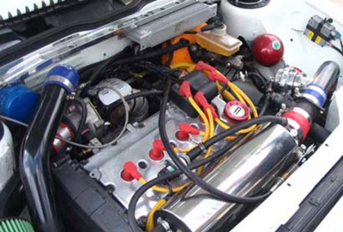 Двигатель серой ВАЗ 2101