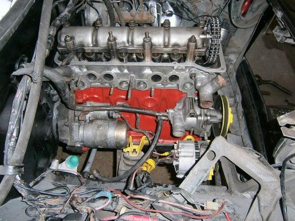 фото мотора жигулей 2106