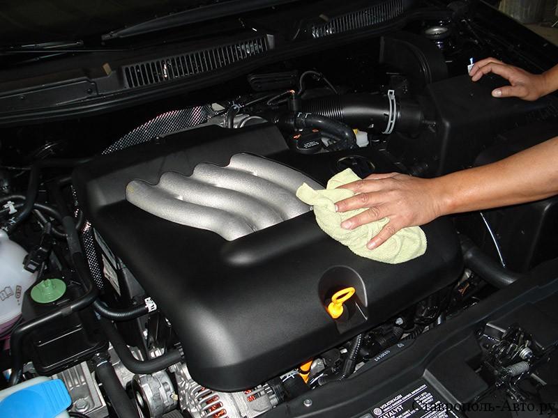 Чем и как почистить двигатель в домашних условиях
