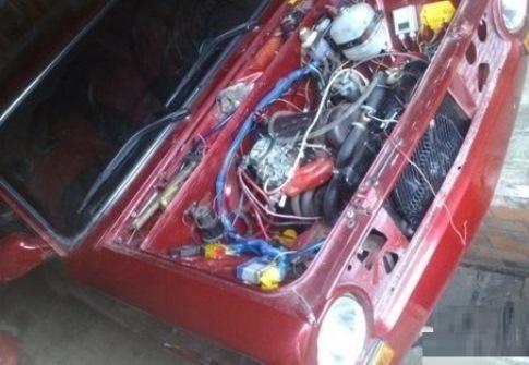 Двигатель ВишневоГО ВАЗ 2101