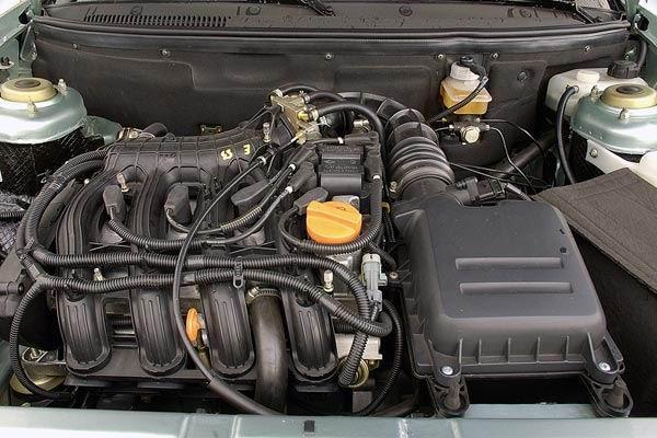 Фотография двигателя Лады Приора