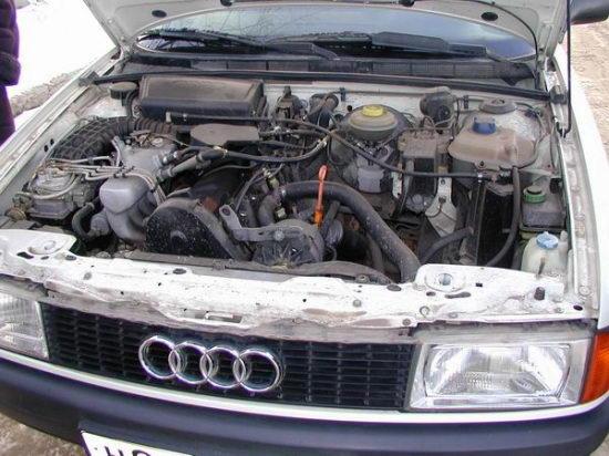 автомобиль Audi 80 стал